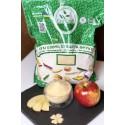 Сушені яблука мелені
