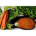 Сушена морква кубиком 10 * 10